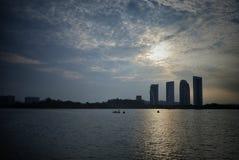 Sunrise at Putrajaya Royalty Free Stock Photography