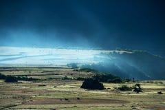 Sunrise in Qinghai-Tibet Plateau Royalty Free Stock Photos