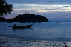 Sunrise of Railay Stock Photos
