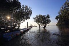 Sunrise Railay , Krabi Province Stock Photos