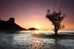 Sunrise Railay , Krabi Province Royalty Free Stock Image