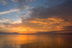 Sunrise Raritan Bay Royalty Free Stock Photography