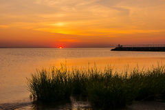 Sunrise Raritan Bay Royalty Free Stock Image