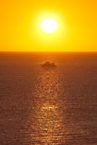 Sunrise in Red Sea Royalty Free Stock Photos