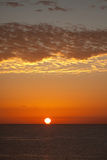 Sunrise in Red Sea Royalty Free Stock Image