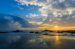 Sunrise reflection Royalty Free Stock Photo