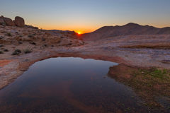 Sunrise in Richtersveld Stock Image