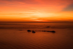 Sunrise in Rio de Janeiro, Brazil Royalty Free Stock Photo