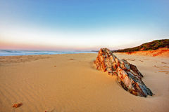 Sunrise Rocks Stock Images