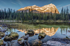 Sunrise in the Rocky Mountains Stock Photo