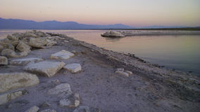 Sunrise at Salton Sea Royalty Free Stock Photography
