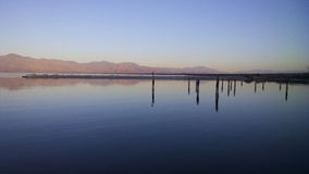Sunrise at Salton Sea Royalty Free Stock Image