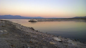 Sunrise at Salton Sea Stock Photography