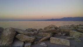 Sunrise at Salton Sea Royalty Free Stock Photo
