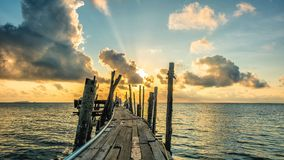 Sunrise on Samed island Royalty Free Stock Images