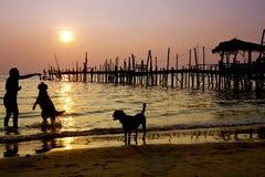 Sunrise, Samet Island Stock Images