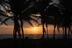 Sunrise, San Blas Royalty Free Stock Photography