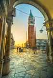 San Marco, Venice, Italy. Sunrise in San Marco, Venice, Italy Stock Image