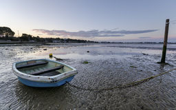 Sunrise at Sandbanks in Dorset Stock Photo