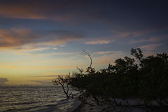 SUnrise in Sanibel Island Stock Image