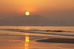 Sunrise in sanya china Stock Photography