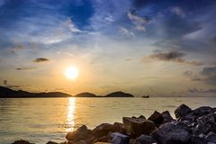 Sunrise at Saphan Hin, Phuket, Thailand Stock Images