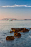 Sunrise on the Sardinia Stock Photography