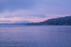 Sunrise Sausalito Royalty Free Stock Image