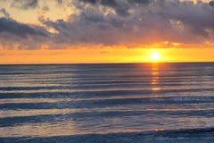 Sunrise scenery. The sunrise scenery of Qinghai Lake in China Royalty Free Stock Image