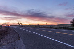Sunrise on scott rd Royalty Free Stock Images