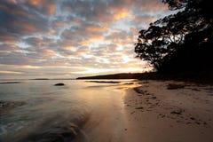 Sunrise Scottish Rocks NSW Australia Stock Images