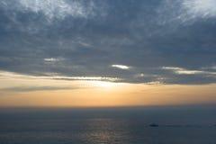Sunrise sea Stock Image