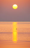 Sunrise on the sea Royalty Free Stock Images