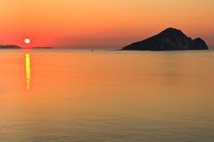 Sunrise at sea Royalty Free Stock Image