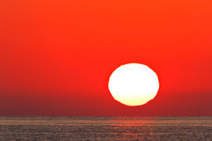 Sunrise at sea Royalty Free Stock Images