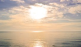 Sunrise on sea Royalty Free Stock Photography