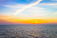 Sunrise at sea Royalty Free Stock Image