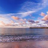 Sunrise at sea Royalty Free Stock Photography