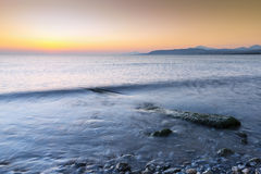 Sunrise And Sea Stock Photography