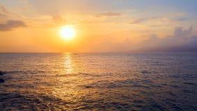 Sunrise and Sea Royalty Free Stock Image
