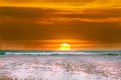 Sunrise on the sea. Royalty Free Stock Image