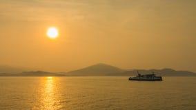 Sunrise on sea Royalty Free Stock Photos