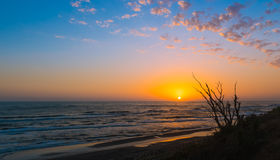 Sunrise on sea Royalty Free Stock Photos