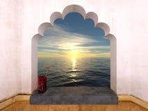 Sunrise and sea Stock Image