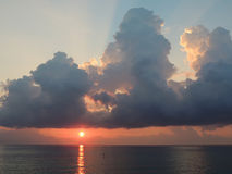 Sunrise on The Sea Royalty Free Stock Photography