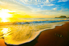 Sunrise and Sea Royalty Free Stock Photo
