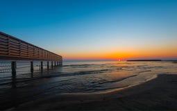 Sunrise on sea Royalty Free Stock Photography