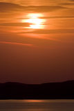Sunrise on sea Stock Photos