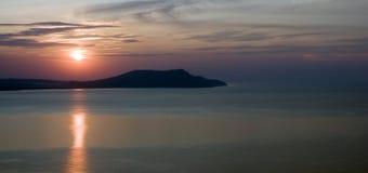 Sunrise on sea Royalty Free Stock Photo