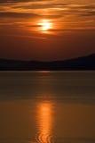 Sunrise on sea Stock Photography